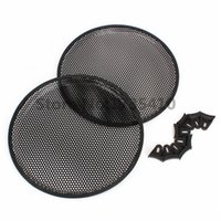 audio speaker mesh - quot Round Car Audio Subwoofer Speaker Cover Mesh Grill With Holder