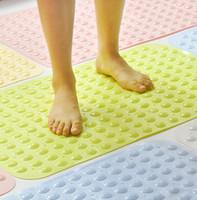 non slip bath mat - 2015 New Arrive PVC Non slip Bath Mat Ground Mat Cheap Bathroom Floor Rug Bathroom non slip mat bathroom shower bath mat LJJD2834
