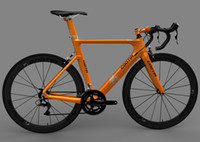 Wholesale Carbon Fiber Disc Frame - Cootia road carbon frame bike   bicycle carbon fiber frameset yellow cycling frames,other color   disc brake is available