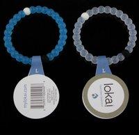 jelly bracelets - Lokai Bracelet Femme Blue White Transparent Silicone Lokai Bracelet For Women Men Pulseras Mujer