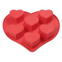 baking cake in silicone pan - BakeBear in One Heart Shape Baking Cake Pans Red Love Silicone Cake Mold Edible Cake Decorations