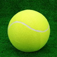 Wholesale Tranning Exercise Practice quot Oversize Durable Elastic Rubber Tennis Balls High Resilience Tennis Ball for Kids Pet Fun