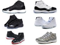 achat en gros de chaussures de sport pas cher-Rétro 11 ensemencés Concordia Jam Jamais Legend gamma bleu XI hommes basket-ball chaussures pas cher chaussures 2016 rouge noir Chaussures de sport en plein air toutes les tailles