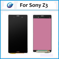 Wholesale LCD For Sony Xperia Z3 LCD Screen Display Digitizer Assembly NEW tested for sony xperia z3 digitizer lcd