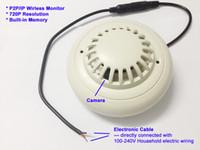 Wholesale Mini HD DVR SPY Hidden Camera wireless wifi IP Smoke Detector Motion Detection Video Recorder Cam Mini CCTV recorder Lens