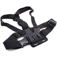 Wholesale GoPro Accessories Adjustable Chest Mount Harness Chest Strap Belt for GoPro HD Hero SJ4000 SJ5000 Sport Camera
