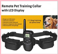 Wholesale Hotsale pet supplies level LCD REMOTE PET DOG TRAINING Collar piece m shock