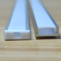 aluminum - 10set led aluminium profile for led bar light led strip aluminum channel waterproof aluminum housing