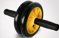 Wholesale More Effectively Better balance dual wheel designed Gym AB Wheel ab roller wheel