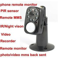 Wholesale GSM MMS Alarm Infrared Night Vision Mini DV Camcorder Home Security System X110