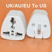 adapter electrical plug - 200 Universal UK AU EU To US Plug Adapter USA AC Power Electrical Plug Adaptador Travel Charger Converter Adapter Pin