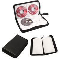 Wholesale PU CD Bag Portable PU Disc DVD Wallet Storage Organizer Bag Case