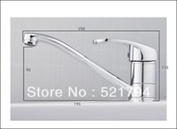bar water tap - High quality water tap Single handle kitchen sink mixer Swivel long Spout Kitchen Bar Sink Faucet QH18002