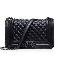 channel - Famous Designers Quilted Double Flaps Lambskin Shoulder Bags Brand Channelling Bag Handbag Genuine Leather messenger Bag Women