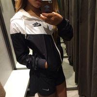 clothing sport coats - new autumn jacket sport style women jacket women coats black white color outdoor clothing