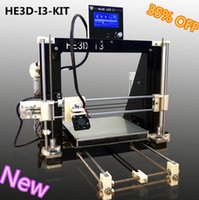 Wholesale he3d i3 prusa i3 d priner kit with LCD