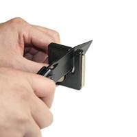 Wholesale Mini Portable Knife Hook Diamond Knife Sharpener Outdoor Sharpening Tool