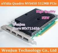 Wholesale by DHL EMS Quadro NVS450 MB PCIe graphic video card year warranty high quality order lt no track