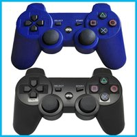 Wholesale Wireless Bluetooth Game Controller Gamepad for PlayStation PS3 Game Controller Joystick for Android video games colors