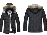 Wholesale High Quality Mens Down Parkas Extremely Thick Winter Coat Boy Long Parkas Men Outwear Padded winter Male Fur Jacket M1831