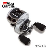 abu garcia revo stx - Abu Garcia Brand Revo STX Baitcasting Fishing Reel Right Left Hand BB Bait Casting Reel with Magnetic Centrifugal brake