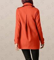 Women Others Others Wholesale-New 2015 autumn- winter women ladies female fashion wool jackets s - xxl coats warm woman jacket greatcoat free shipping