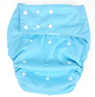 Wholesale Pororo solid color washable pocket adult incontenent pant with insert sets adult waterproof diaper