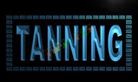 sun tan lotion - LK285 TM Tanning Shop Sun Lotion NEW Neon Light Sign Advertising led panel jpg