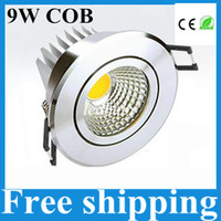 aluminum angle - 9w cob led ceiling light dimmable led downlight recessed spot light lamp v silver shell angle led driver years warranty UL CE