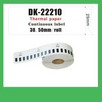 adress label - 100 x ROLL DK22210 DK BROTHER COMPATIBLE LABELS Big adress labels
