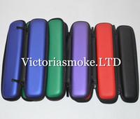 2015 Date long et étroit Mini Zipper Case Ego Case E Cigarette E Zipper Case Cig Sac en cuir pour Ego Evod Ce4 Protank Ego Démarrer Kit E Cigs