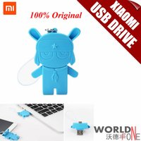 Wholesale Original Xiaomi Mi Rabbit GB USB in Micro USB USB Flash Drive for Mobile Phone Cell Phone USB Pendrive Pen Drive