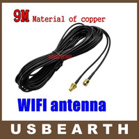 Wholesale M WiFi Antenna RP SMA Extension Cable