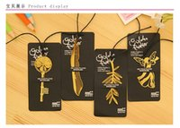 best bookmarks - Exquisite mini Bookmarks Cannes sign gild Palm Frond feather angel bookmarks best birthday gift set