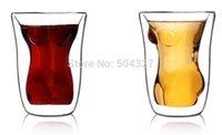 Cheap Free shipping 1Piece Women Torso Shot Glass Lady Shot Glasses Naked Female Shot Glass
