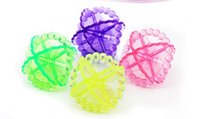 Wholesale 6pcs Magic Laundry Balls For Washing Machine Clear Fabric Clothes Eco Washing Machine Cleaning Soften Tool Soft PVC Ball