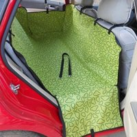 Wholesale Pet Dog Cat Car Rear Back Seat Carrier Cover Pet Dog Mat Blanket Cover Mat Hammock Cushion Protector Color PT0006