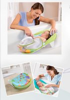 Wholesale Baby Bath chair Baby Bath Folding Bed Nets With Bath Tub Bath Towel Bath Chair Baby Shower Bath Rack