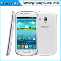 android 4.0 phone - Samsung Galaxy S3 mini i8190 Original Unloced GSM G Dual core mobile phone WIFI GPS MP GB Smartphone Refurbished