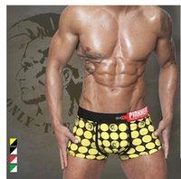 Wholesale Hot Sale Environmental Protection Men Printing Cotton Boxer Shorts Mid Waist U Convex Design Boxer For Men