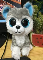 beanie boos cat - TY Beanie Boos Plush styles Ty Big Eyes Soft Dolls Puppy Cats for Children Christmas gifts Kids Toys