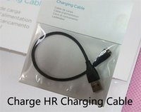 Wholesale 100pcs DHL EMS free ship Fitbit Charge HR charger the usb charger for Fitbit Charge HR