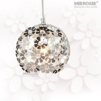 Wholesale Beautiful Flower Crystal Pendant Light Lamp Lighting Fixture Lustre Hanging Pendant Lamp for Dining Room Bedroom Price for one piece only
