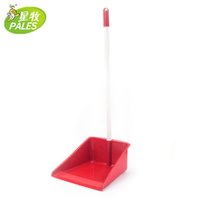 Wholesale Bucket dustpan garbage shovel with handle dustpan thickening HOT SALE high quality household WINE RED