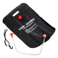 solar heating - New Arrival L Solar Heated Camp Shower Bag Outdoor Camping Shower Water Bag