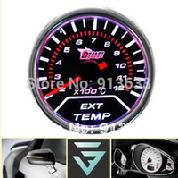 Wholesale In stock new quot mm Tint Series X100 C Exhaust Gas Temperature Temp EGT Gauge Car Auto