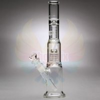 clear glass - Mobius Glassworks Clear Nano With Matrix Perc inches heights mm bubbler matrix bong Glass Water Pipe mm Pipes dome birdcage perc