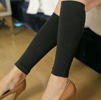 beam legs - Powerful Women Leg shapers short Elastic beam legs stockings Cropped shape skinny Calf socks Sculpting Thin Slimming Shank