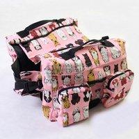 Wholesale Hot Sale Fashion Cotton Canvas Multi function Big Dog Training Camping Bag Oxford Nylon Waterproof Bag
