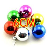 Wholesale Christmas ball light ball Ball lob plastic ball Rattan Christmas tree ornaments multicolor cm Christmas Balls